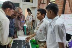 Inter school SVS science Exhibition held in Baroda High School Danteshwar